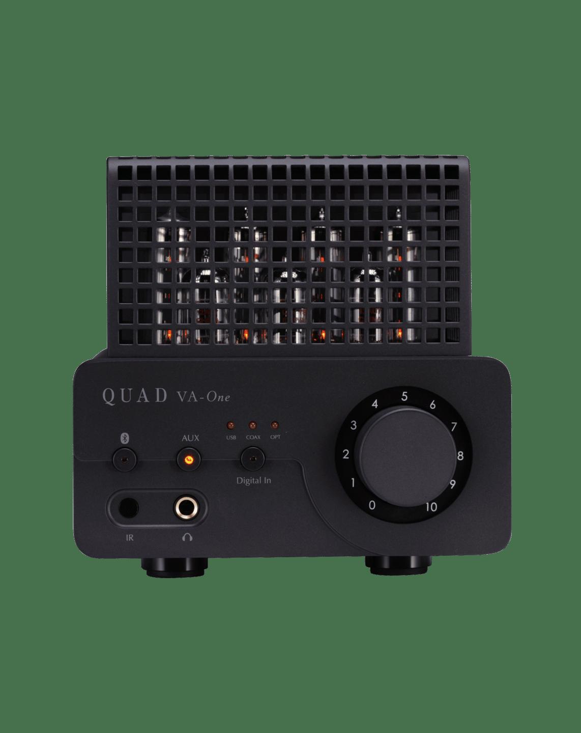 Quad VA One+ Amplificateur Intégré avec Valve DAC Gris Lancaster