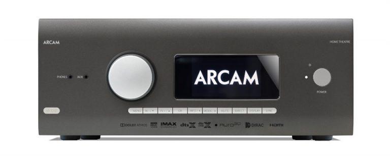 Arcam HDA AVR10 Classe AB Récepteur Audio-Vidéo décodage 12 canaux avec Apple AirPlay® 2 And Chromecast Intégré