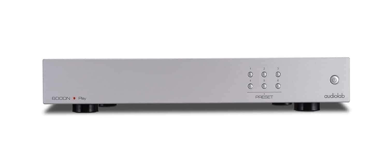 Audiolab 6000N Play Lecteur Réseaux »Hi-Res» sans fil (Argent)