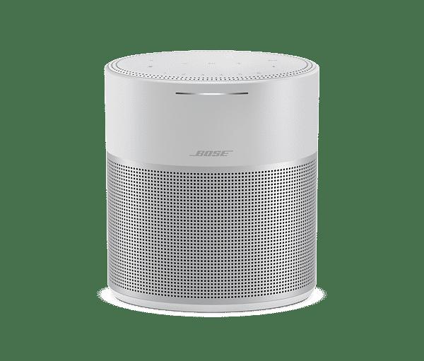 Haut-parleur Home Speaker 300 sans fil multipièce de Bose avec commande vocale intégrée (argent)