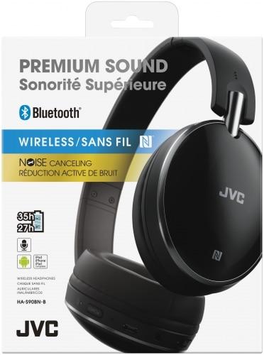 JVC Casque Supra-Auriculaire Bluetooth avec Suppression Active de Bruit (HA-S90BN)