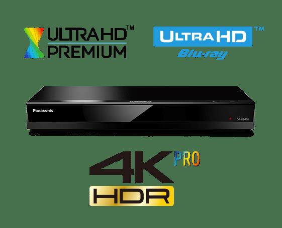 Panasonic DP UB420 Lecteur Blu-Ray Ultra HD 4K avec Wi-Fi (DP-UB420)