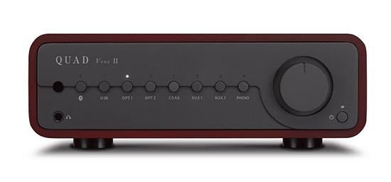 Quad Vena II Sapele Mahogany Wood Integrated Amplifier With Bluetooth
