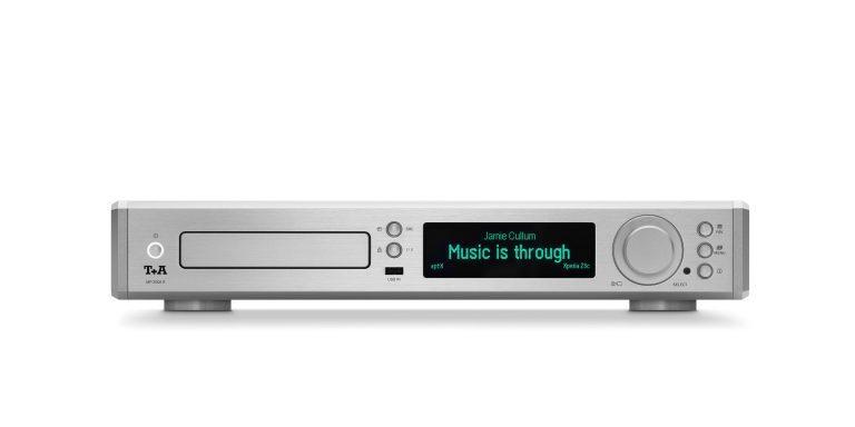 T+A MP2000R MKII R Series Multi Source Player Silver