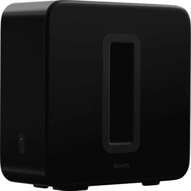 Sonos Sub Le caisson de basses sans fil pour des basses profondes (Noir)