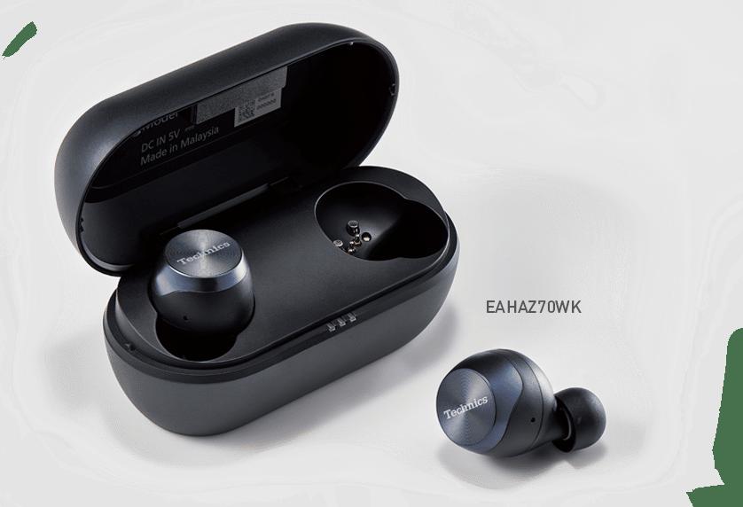 Technics Écouteurs Véritable Sans Fil Noir(EAH-AZ70W)