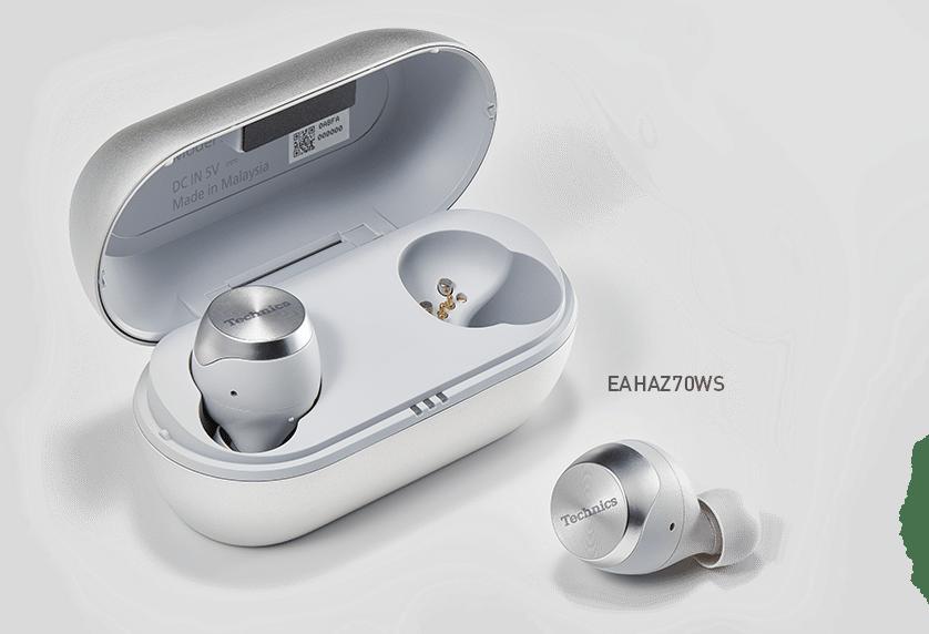 Technics Écouteurs Véritable Sans Fil Argent (EAH-AZ70W)