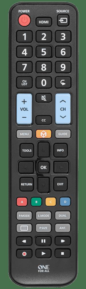 ONE for All Télécommande universelle pour TV Samsung URC 1810