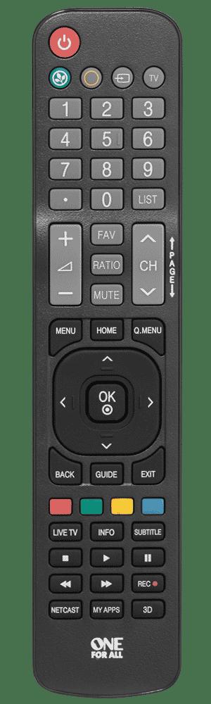 ONE for ALL Télécommande universelle pour TV LG URC 1811