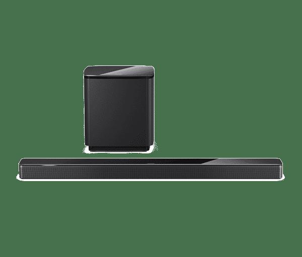 Bose ensemble smart Soundbar 700 et Bass Module 700