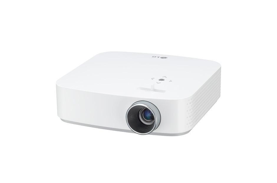LG Projecteur CineBeam à DEL pleine HD intelligent pour cinéma maison avec pile intégrée (PF50KA)