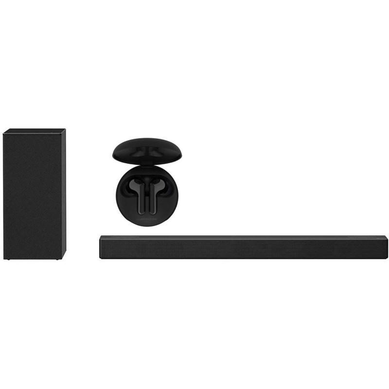 LG Ensemble Barre de son 3.1.2 Dolby Atmos avec Écouteurs sans fil