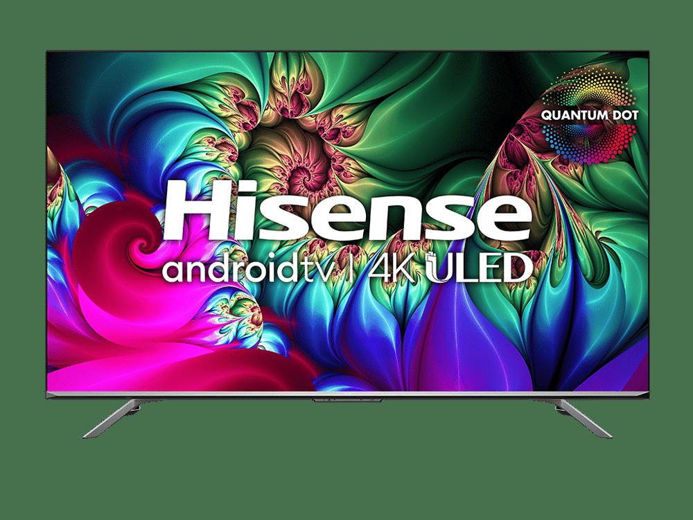 HISENSE Série U78 4K QLED Téléviseur intelligent de 65 PO (65U78G)