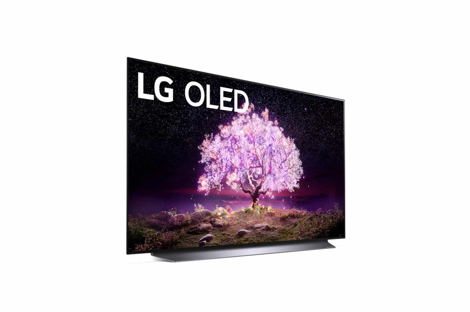 LG C1 OLED 4K Téléviseur Intelligent w/ AI ThinQ 55 PO (55C1AUB)