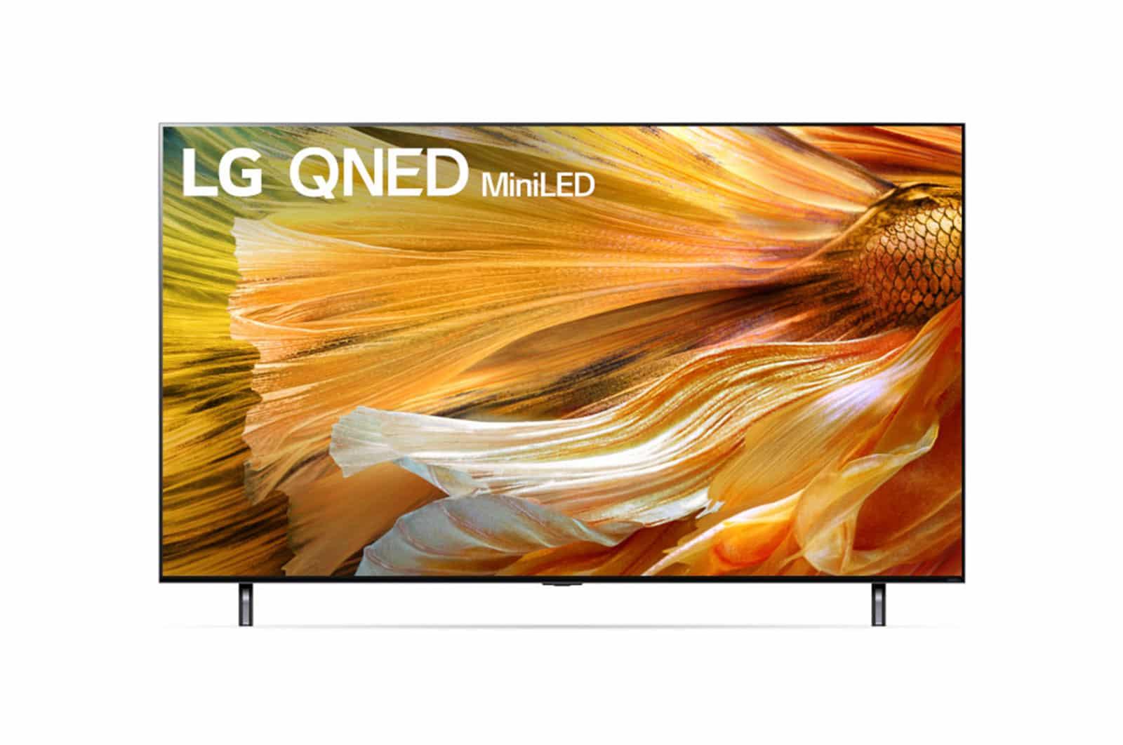 LG Mini DEL QNED90 4K Téléviseur Intelligent de 65 po (65QNED90UPA)
